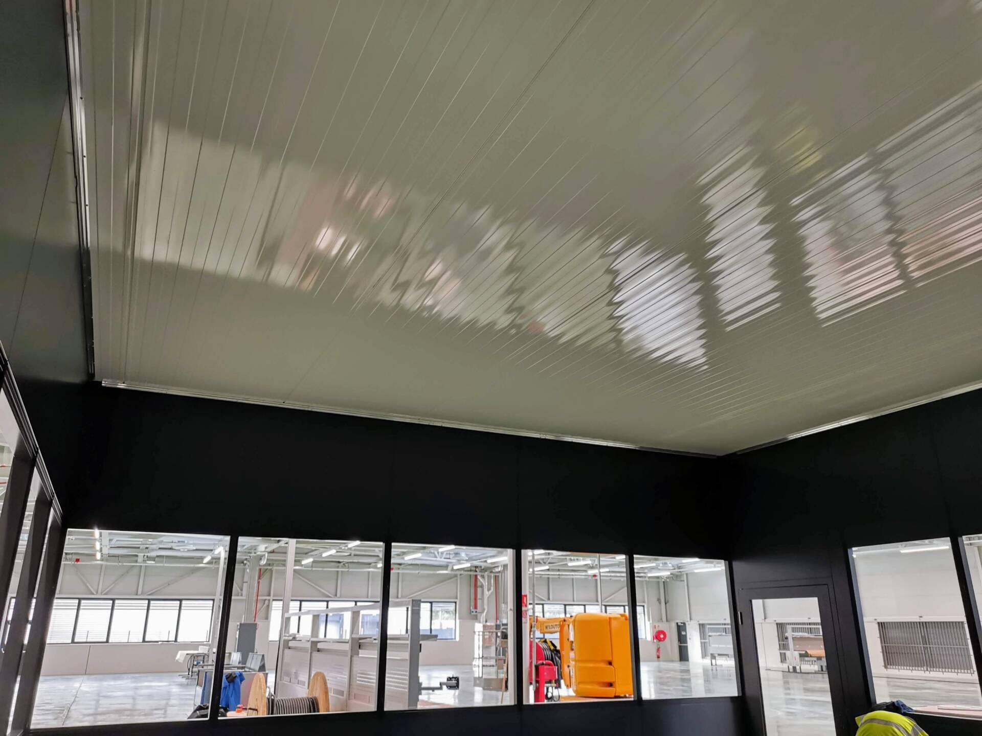 plafond cabine